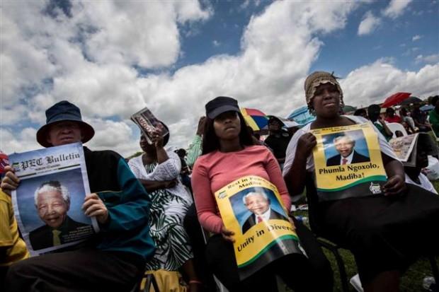 I funerali di Nelson Mandela (foto di Lorenzo Moscia)